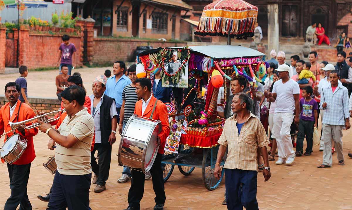 gaijatra procession