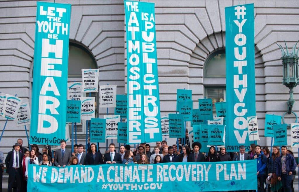 Una nueva iniciativa para luchar contra el cambio climático: el movimiento #YouthvGov
