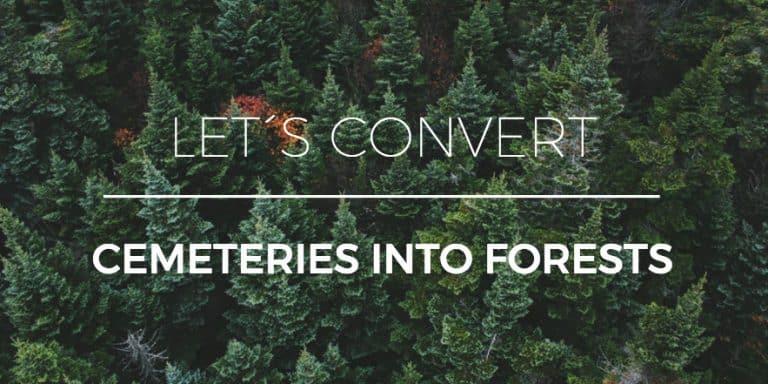 Pourquoi Devrions-Nous Convertir Les Cimetières En Forêts?